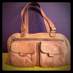 Leather Fossil Bag